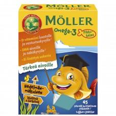 Moller Omega3 Pikkukalat 45 капсул
