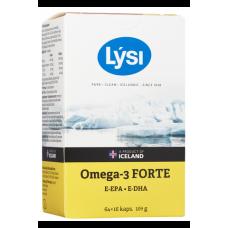 LYSI OMEGA-3 FORTE рыбий жир 80 шт