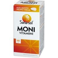Sana-Sol Moni vitamiini Мультивитамины санасол 180 шт