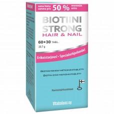 Biotiini Strong Hair&Nail 90 таблеток