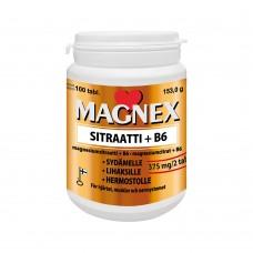 Magnex Sitraatti (Магнекс цитрат) магний + витамин В6 100 таб