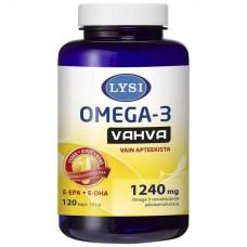 Lysi omega3 Vahva рыбий жир 120 капсул