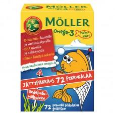 Moller Omega3 Pikkukalat 72 капсулы