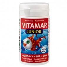 Vitamar Junior омега-3 60 капс вкус апельсин, для детей от 2х лет