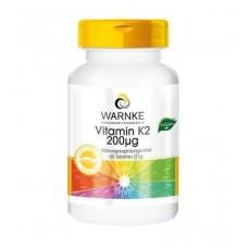 WARNKE Vitamin K2 200 mkg 100 табл