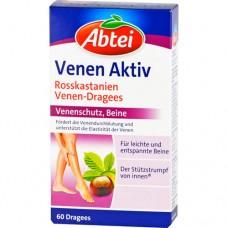 Abtei Venen Aktiv для ног 60 табл, Германия