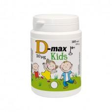D-max Kids Витамин Д 10 мкг - 400 МЕ 300 таб.