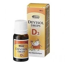 DeviSol Drops D3. Витамин D3. Капли. 10 мл