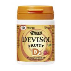 DeviSol Fruity D3 10 mg 100 таб