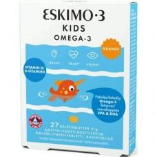 ДЕТСКАЯ ОМЕГА 3 ESKIMO-3 KIDS CHEWABLE OMEGA-3, 27 ЖЕВАТ. МАРМЕЛАДОК