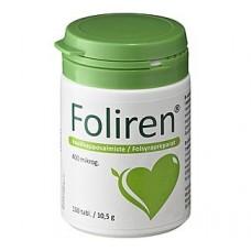 Foliren фолиевая кислота 100 табл