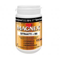 Magnex Sitraatti (Магнекс цитрат) магний + витамин В6 150 таб