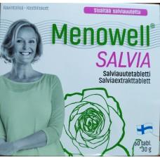 Menowell salvia Меновелл при менопаузе 60 таб