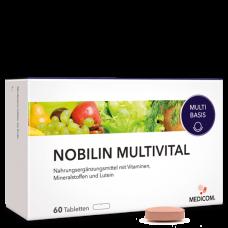 Мультивитаминный комплекс Nobilin multivital 60 таб, Германия