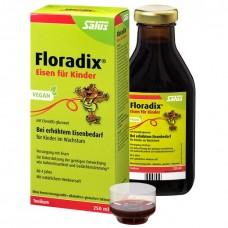 Floradix (Флорадикс) Kinder 250 мл Железо + витамины, Германия