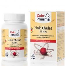 Цинк хелатные капсулы из ZeinPharma ® 25 мг (120 капсул), Германия