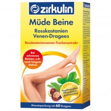 Zirkulin Müde Beine для улучшения самочувствия уставших ног 60 табл
